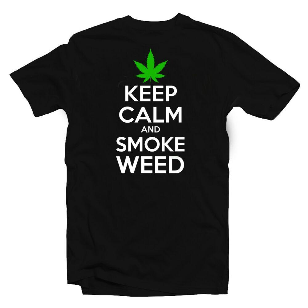 Keep Calm And Smoke Weed Póló