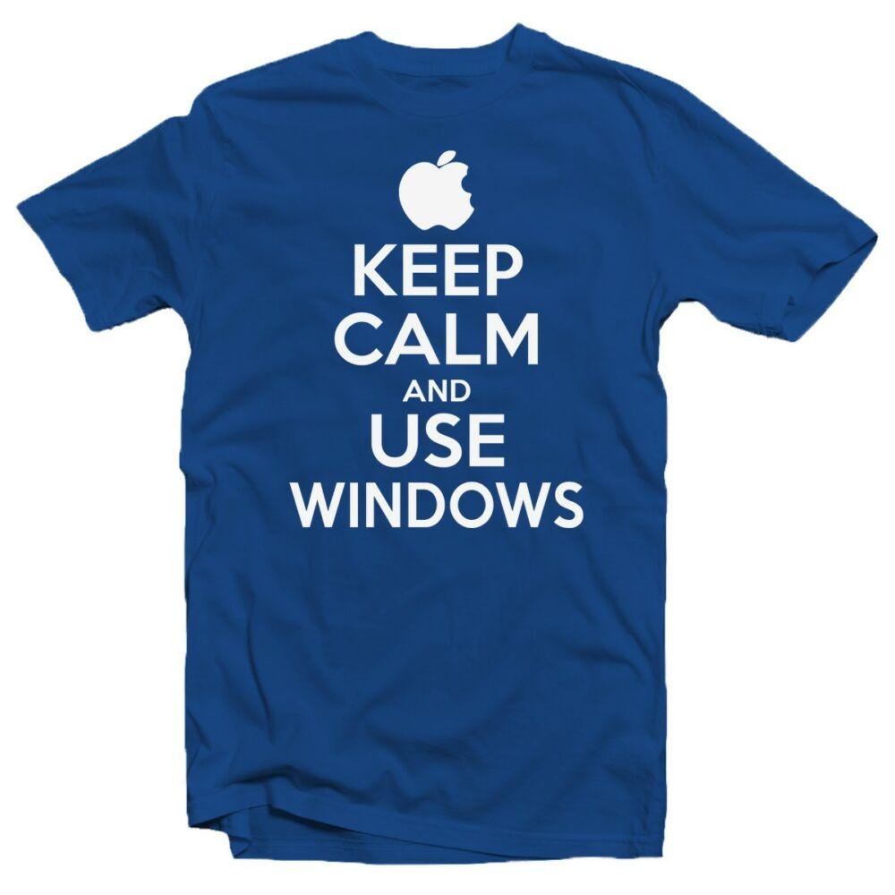 Keep Calm And Use Windows Ajándék Póló