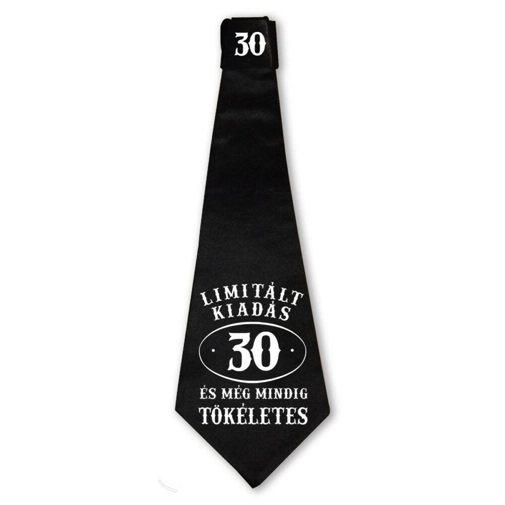 30 Limitált Kiadás és még Mindig Tökéletes Ajándék Szülinapi Nyakkendő