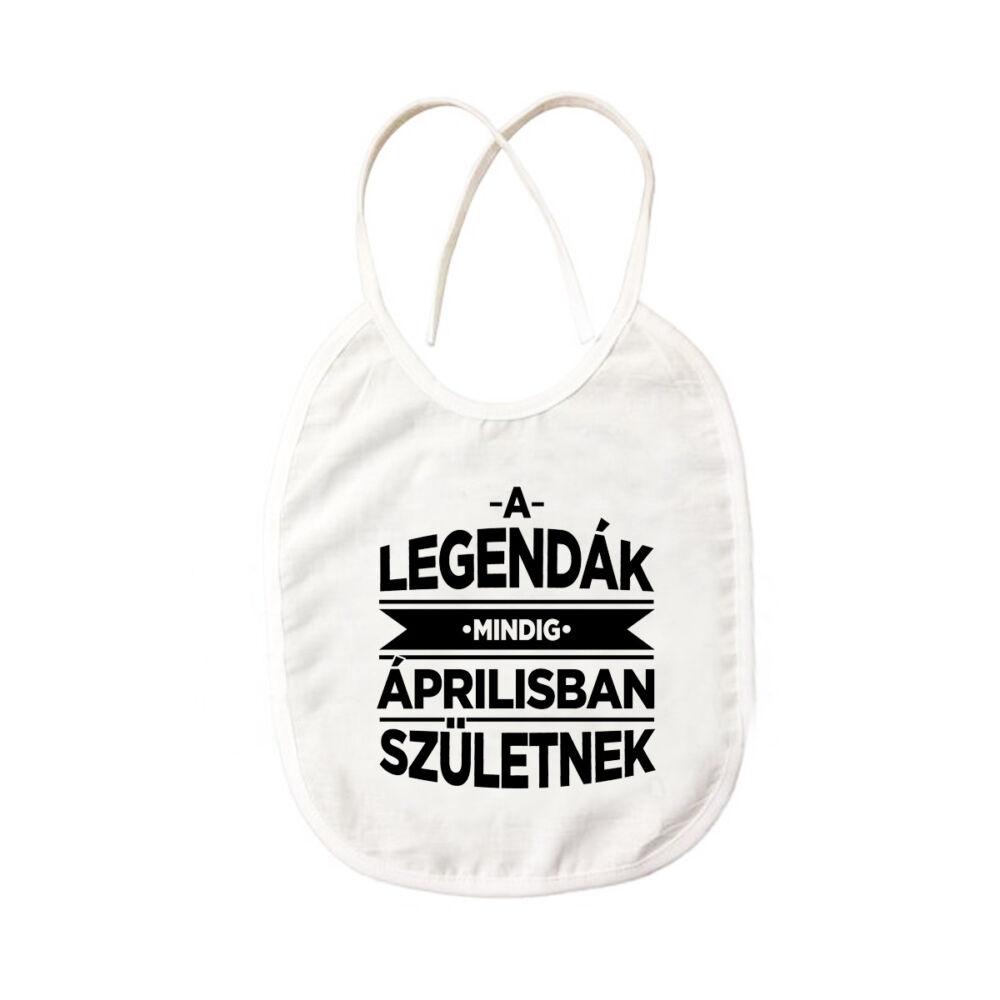 A Legendák Mindig Áprilisban Születnek Ajándék Szülinapi Pártedli