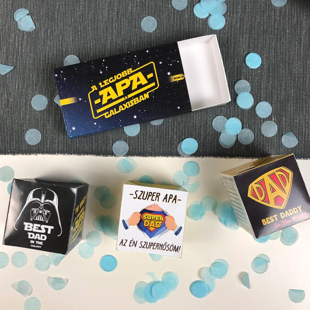 Pop Up Cube - Kirobbanó Meglepetés - Apunak
