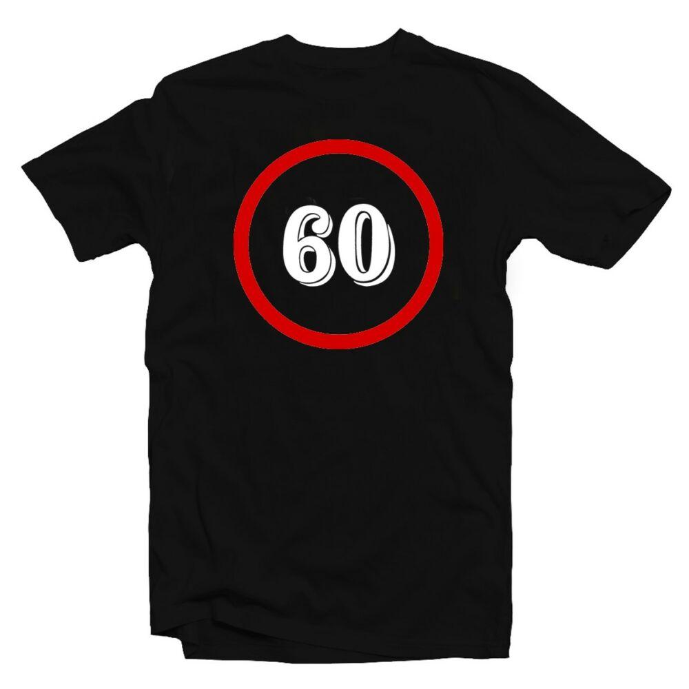 Sebességkorlátozó 60 Számos Szülinapi Ajándék Póló