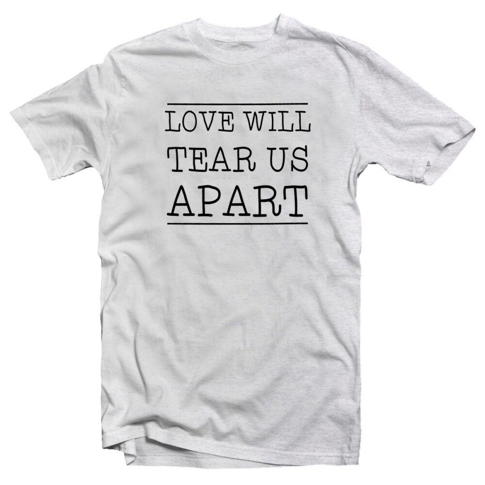 Love Will Tear Us Apart Zenei Feliratos Póló