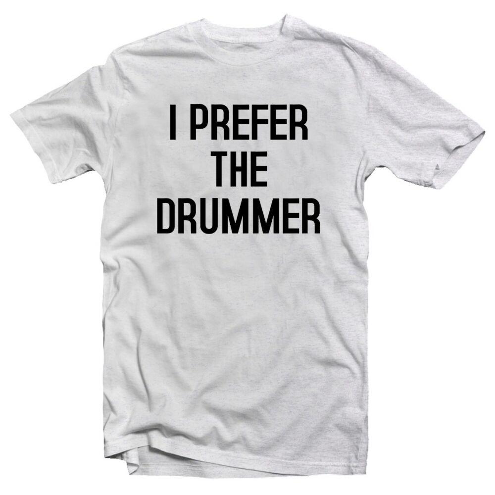 I Prefer the Drummer Zenei Feliratos Póló