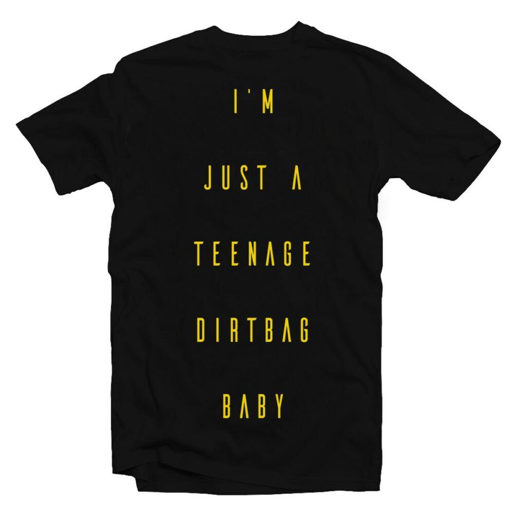 I Am Just a Teenage Dirtbag Baby Zenei Feliratos Póló