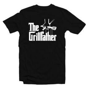 The Grillfather Ajándék Póló Grill Rajongóknak