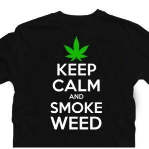 Keep Calm And Smoke Weed Póló 3