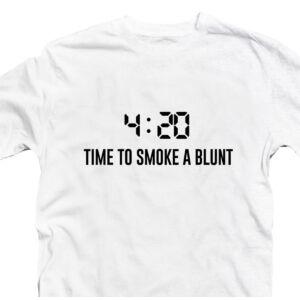 4:20 Time To Smoke a Blunt Póló 3