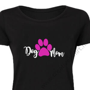 Dog Mom Állatos, Vicces Póló 2