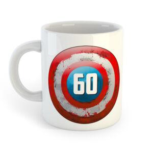 60 és a Legenda Folytatódik! Ajándék Szülinapi Bögre 2