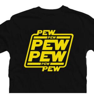 Pew Pew Pew Star Wars Geek Gamer Póló 2