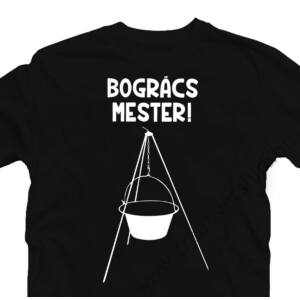 Bogrács Mester Ajándék Póló 2