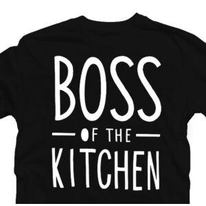 Boss of the Kitchen - Konyhafőnök Ajándék Póló 2