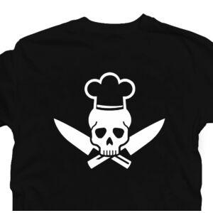 Cook Skull - Koponya Séf - Főzök Ajándék Póló 2