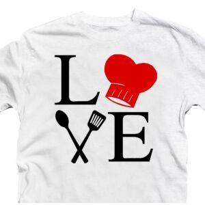 Love Grill Ajándék Póló Grill Rajongóknak 2