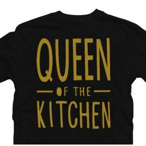 Queen of the Kitchen - Konyha Királynője Ajándék Póló 2