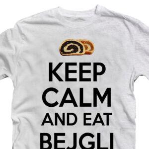 Keep Calm and Eat Bejgli Karácsonyi Feliratos Póló 2