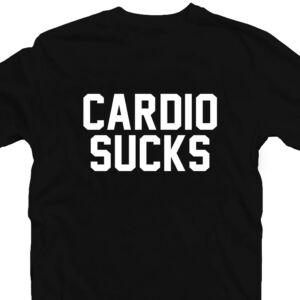 Cardio Sucks' Vicces Kondis Póló 2