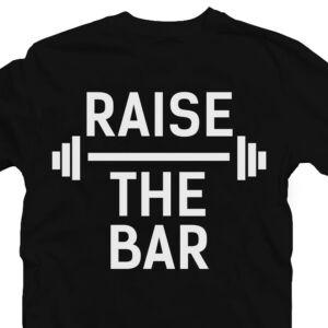 Raise the Bar' Vicces Kondis Póló 2
