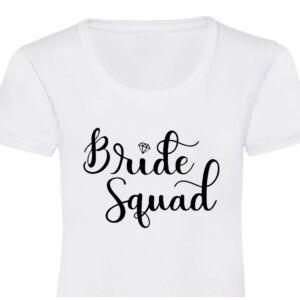 Diamond Bride Squad Feliratos Női Póló Lánybúcsúra 2