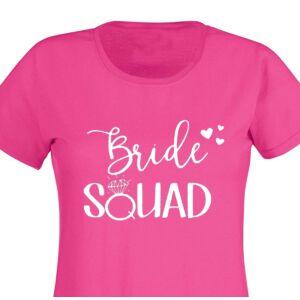 Bride Squad Hearts Feliratú Női Póló Lánybúcsúra 2