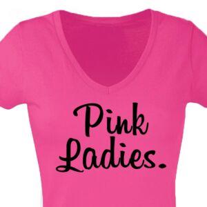 Pink Ladies' Feliratos Lánybúcsú Női Póló 2