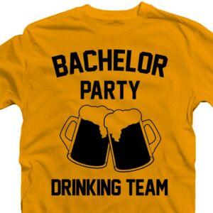 Bachelor Party Drinking Team' Legénybúcsú Party Póló 2