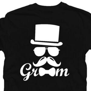 Groom Top Hat' Legénybúcsú Party Póló 2
