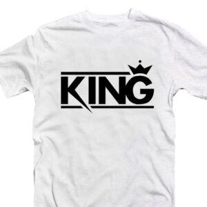 King - Király Szerelmes Póló Valentin-napra 2