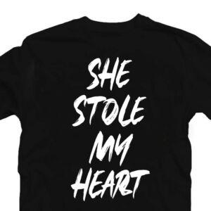 She Stole My Heart Szerelmes Póló Valentin-napra 2