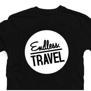 Endless. Travel. Utazós Feliratos Póló 2