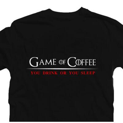 Game of Coffee Geek Gamer Póló 2