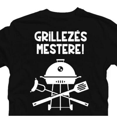 Grillezés Mestere Ajándék Póló Grill Rajongóknak 2