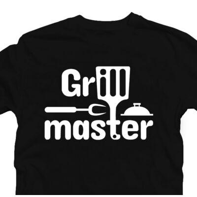 Grillmaster - A Grill Mestere Ajándék Póló Grill Rajongóknak 2