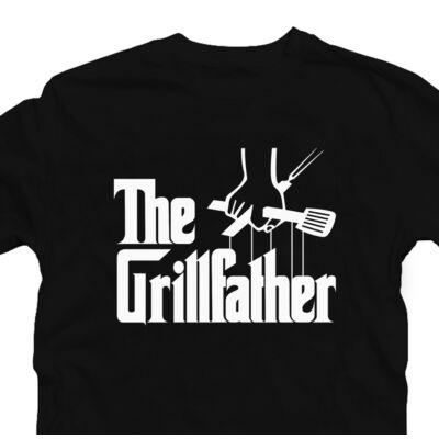 The Grillfather Ajándék Póló Grill Rajongóknak 2