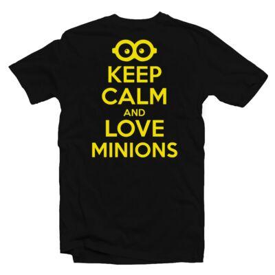 f3295a0112 Keep Calm And Love Minions Meglepetés Póló - Ruha és Pólónyomás ...