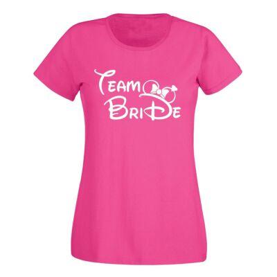 d1d42ae347 Minnie Team Bride Női Póló Lánybúcsúra - Ruha és Pólónyomás - Vicces ...