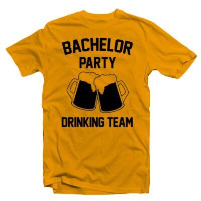Bachelor Party Drinking Team  Legénybúcsú Party Póló - Ruha és ... ac9374f591