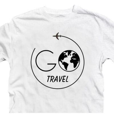 Go Travel Utazós Feliratos Póló 2