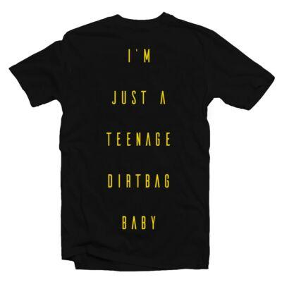 I Am Just a Teenage Dirtbag Baby Zenei Feliratos Póló - Ruha és ... 0594f6fc3f
