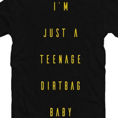 I Am Just a Teenage Dirtbag Baby Zenei Feliratos Póló 2