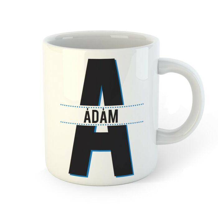 Ádám - Ajándék Névnapos Bögre