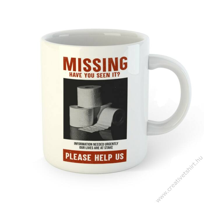 Missing. Have You Seen It... Bögre