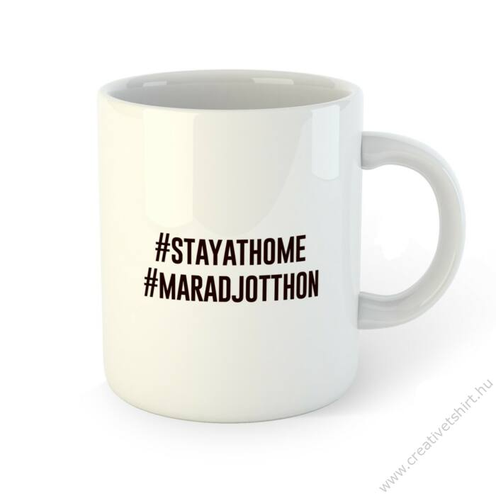 #maradjotthon #stayathome Bögre