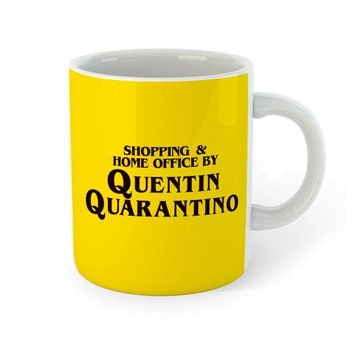 Quentin Quarantino Bögre