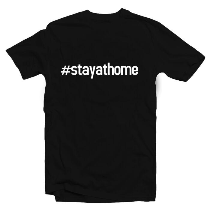 #stayathome Feliratos Póló
