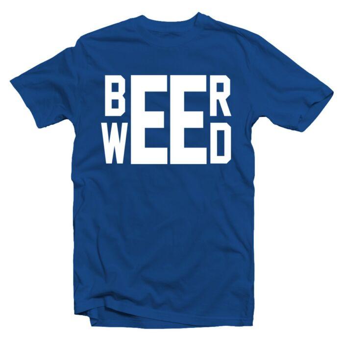 Beer - Weed' Feliratos Póló
