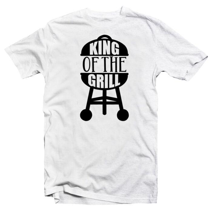 King of the Grill 2 Ajándék Póló Grill Rajongóknak