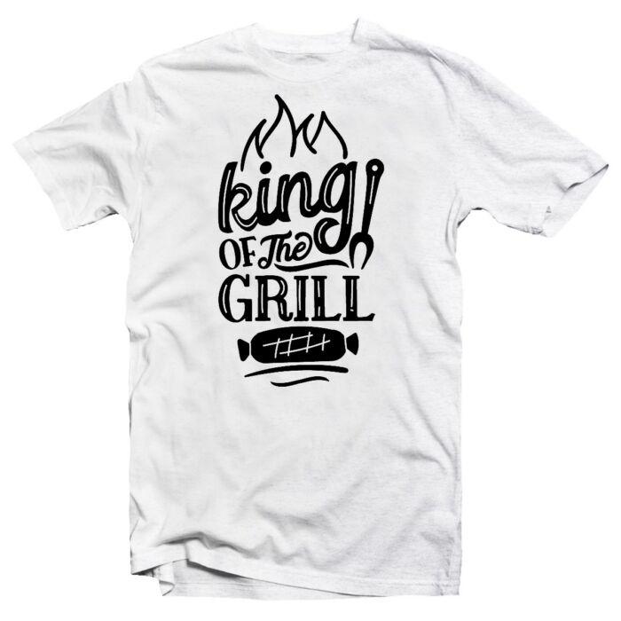 King of the Grill Ajándék Póló Grill Rajongóknak
