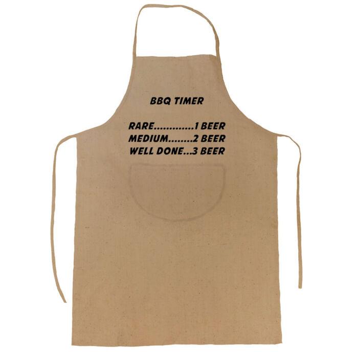 BBQ Timer' Vicces, Tréfás Kötény